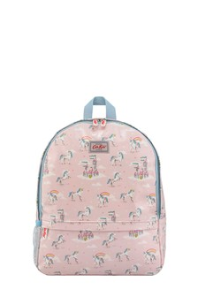Cath Kidston® Pink Unicorns Pocket Padded Rucksack