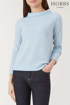 Hobbs Light Blue Audrey Sweater