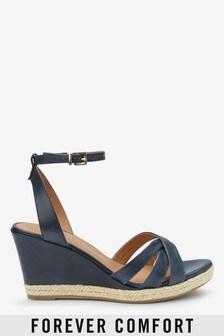 נעלי פלטפורמה מעור של Forever Comfort