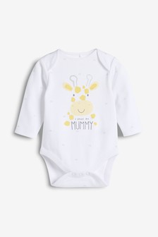 I Love My Mummy Long Sleeve Bodysuit (0-18mths)