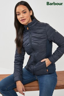Barbour® Navy Longshore Quilted Padded Jacket