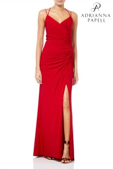 Adrianna Papell Jersey Long Dress