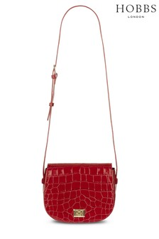 Hobbs Red Oxford Saddle Bag