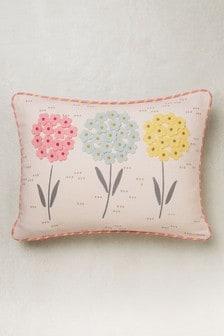 Подушка с цветочным рисунком Trio