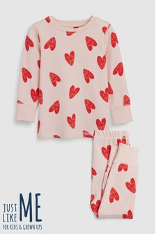 Heart Snuggle Pyjamas (9mths-12yrs)