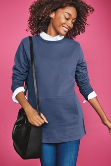 Basic Longline Sweatshirt