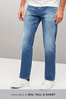 Belted Crosshatch Jeans