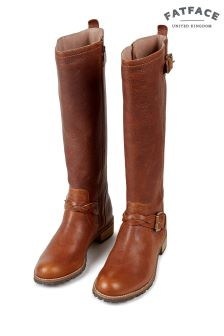 FatFace Chestnut Selsey Riding Boot