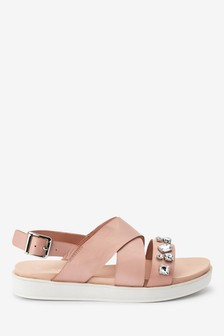 Slingback Footbed Sandals