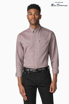 Ben Sherman Mink Plain Oxford Shirt