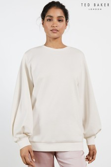 Ted Baker Cream Aidiina Oversized Sweater