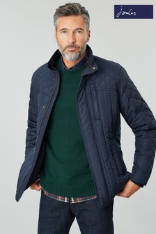 Joules Blue Layfield Waterproof Quilted Jacket