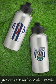 Personalised West Bromwich Albion Water Bottle by Personalised Football Gifts
