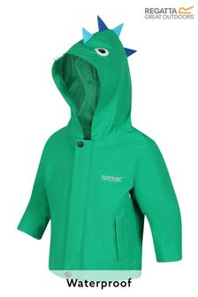 Regatta Green Animal Waterproof Shell Character Jacket