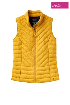 Joules Brindley Chevron Quilted Gilet
