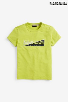Napapijri Boys Saky Logo T-Shirt