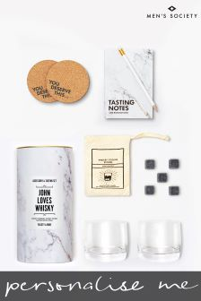 Personalised Whisky Lovers Accessory And Tasting Kit by Mens Society