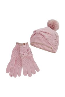 baker by Ted Baker Pink Bkg Bow Set