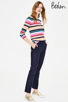 Boden Navy Richmond 7/8 Trousers