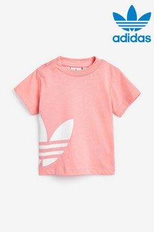 adidas Originals Infant Pink Side Trefoil T-Shirt