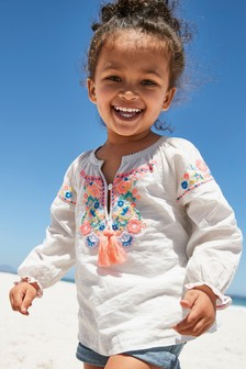 Embroidered Kaftan (3mths-7yrs)