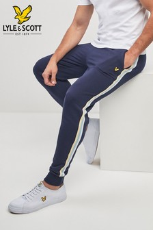 Lyle & Scott Navy Side Stripe Jogger