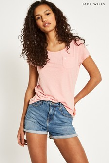 T-shirt Jack Wills Fullford rose
