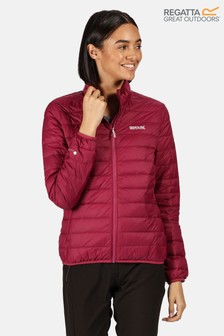 Regatta Purple Womens Whitehill Baffle Jacket