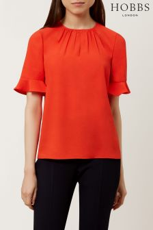 Hobbs Red Teagan Top