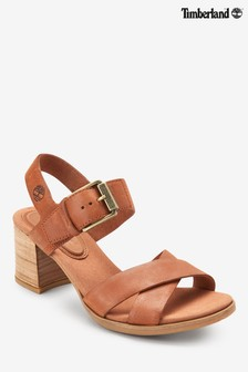 Timberland® Tan Tallulah May Heeled Sandal