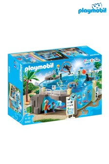 Playmobil® Family Fun Aquarium With Fillable Water Enclosure