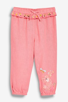 Bunny Embroidered Trousers (3mths-7yrs)