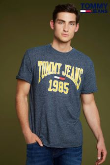 Tommy Jeans Grey Logo T-Shirt