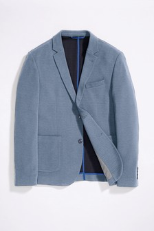 Jersey Slim Fit Blazer