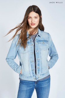 Jack Wills Pale Indigo Houghton Denim Jacket