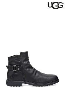 UGG® Mens Black Morrison Pull-On Boots