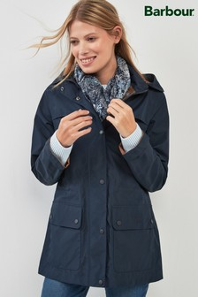 Barbour® Navy Waterproof Drizzle Jacket