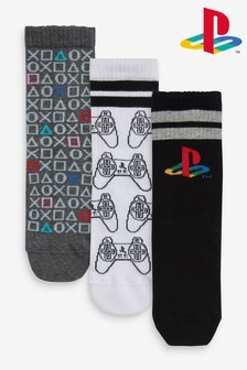 3 Pack Sport PlayStation™ Socks (Older)