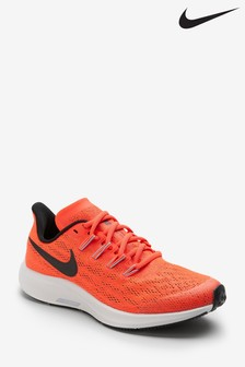 Nike Run Red Air Zoom Pegasus 36 Youth Trainers