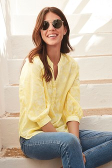 Light Cotton Overhead Blouse
