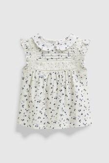 無袖有領女裝上衣 (3個月至7歲)