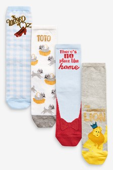 The Wizard Of Oz Ankle Socks Four Pack