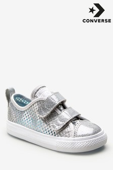 Converse Metallic Infant Chuck All Star Trainer