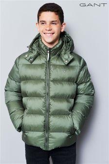 GANT Teen Green Alta Padded Jacket