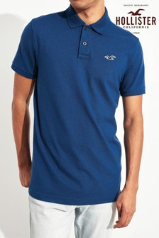 Hollister Navy Muscle Polo