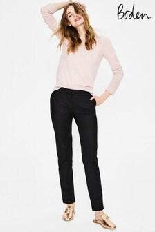 Boden Black Richmond Trousers