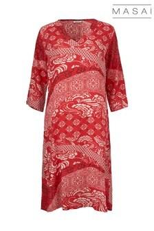Masai Red Nada Dress
