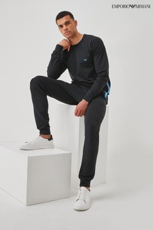 Emporio Armani Loungewear Block Logo Tracksuit