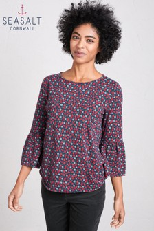 Seasalt Forest Berry Marine Pageant Top