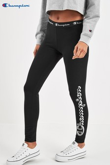 Champion Black Logo Legging